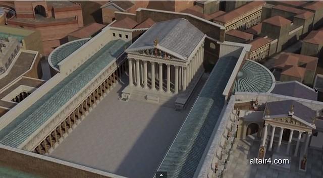 ROMA ARCHEOLOGIA e I FORI IMPERIALI: Il Foro di Augusto, LA REPUBBLICA (08|04|2014) & Altair4 Multimedia (03|2014).