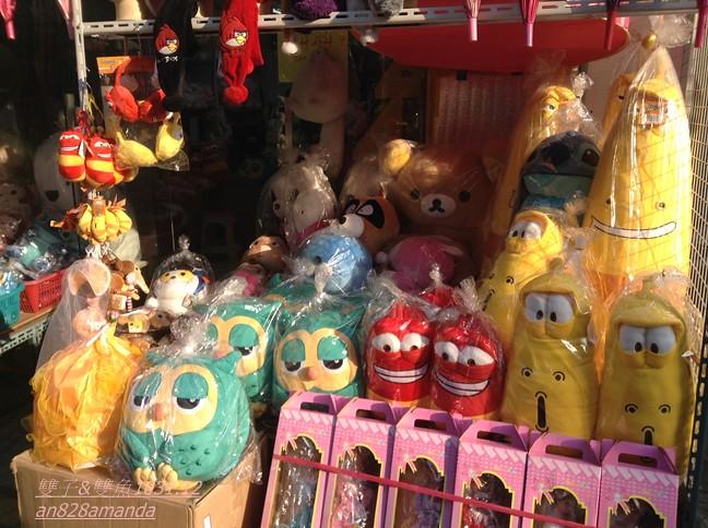 22東大門玩具文具批發綜合市場.繼承者們貓頭鷹暖手抱枕Roumang