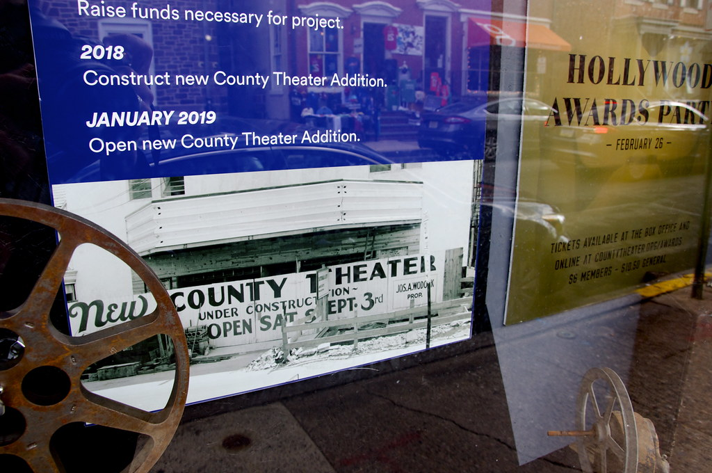 The County Theater Doylestown PA - Retro Roadmap