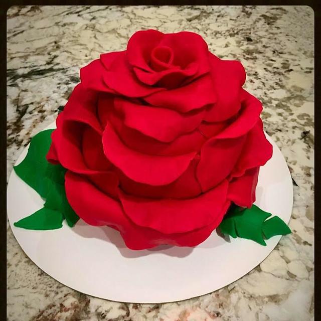 Flower Cake by Smita Dogra of Baker's Basket