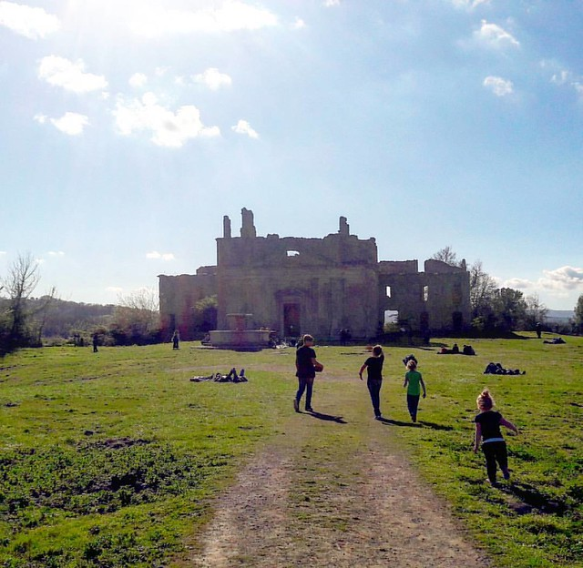 The ghost town of Monterano