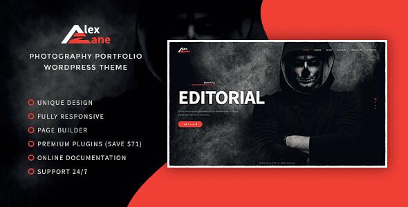 Alex Zane WordPress Theme free download