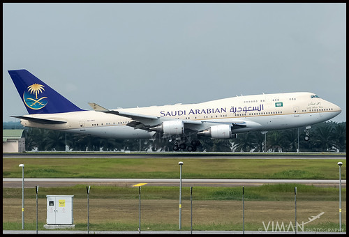 Saudi Arabian Royal Flight Boeing 747-400