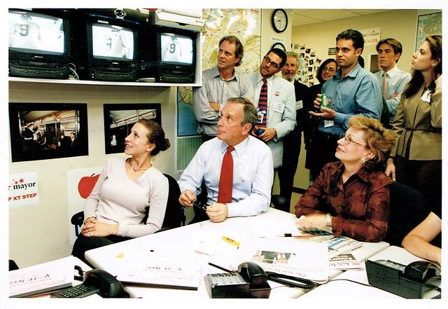 Bloomberg 2001 Primary Election Returns