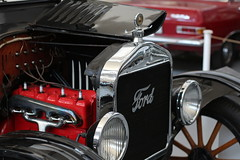 Ford Model T engine bay