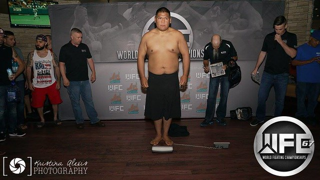 WFC 67 Weigh-Ins at the Avi Resort & Casino 4/7/17