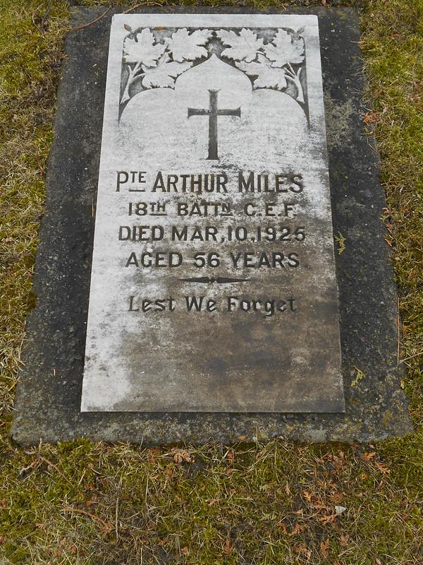 Pte Arthur Miles