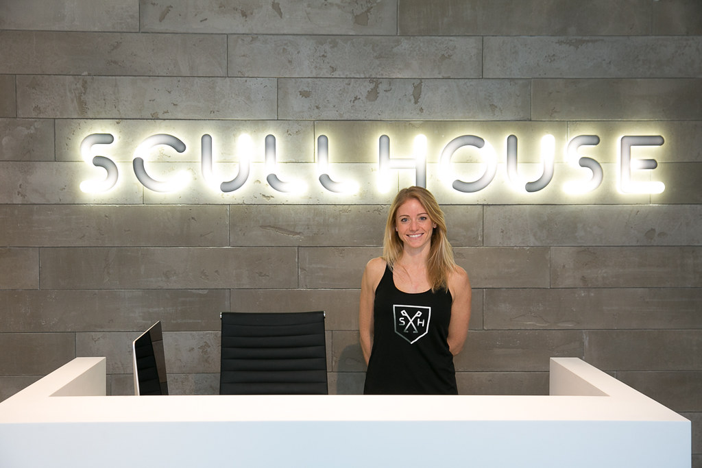 Kristin Jeffrey, owner of Scullhouse rowing studio