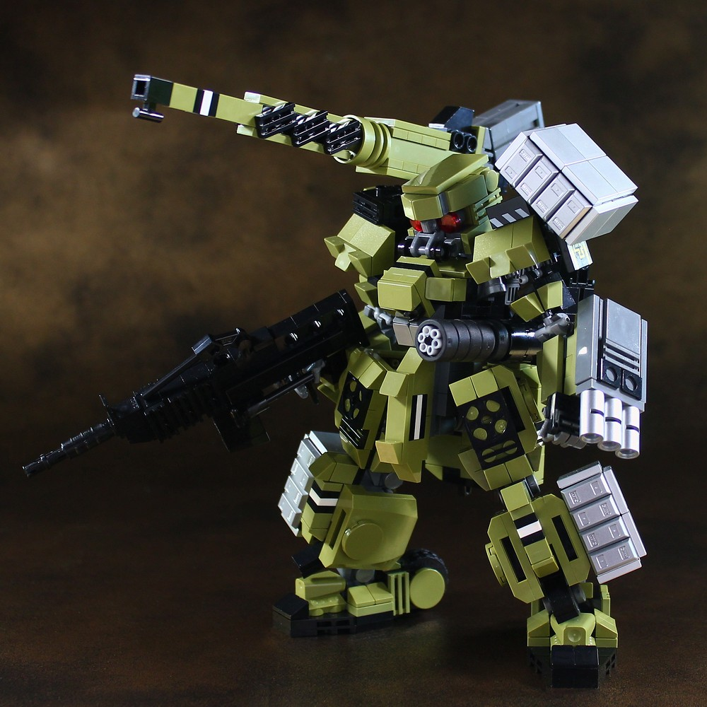 MFS-10 Garm (Heavily armed type) (custom built Lego model)