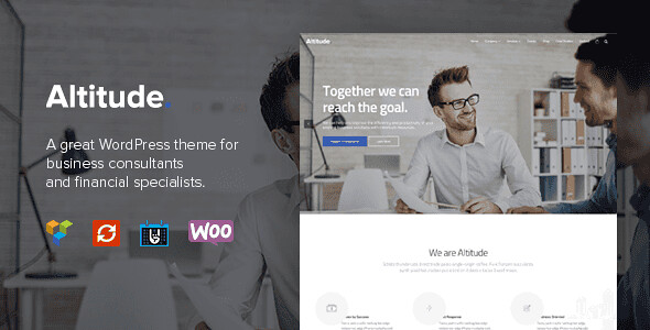 Altitude WordPress Theme free download