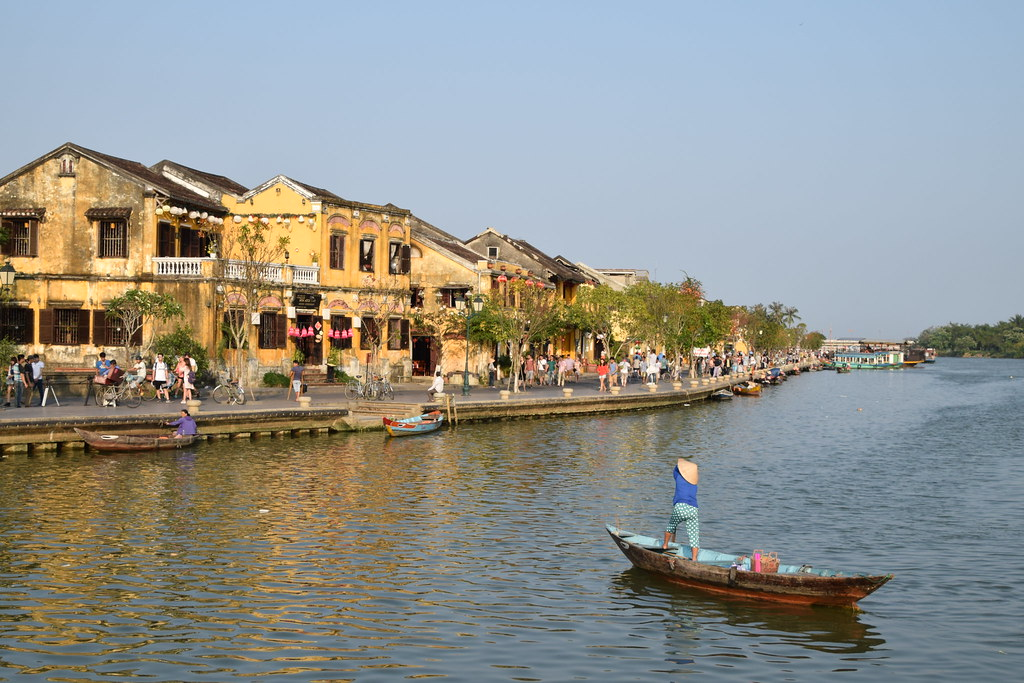 Riverside view, Hoi An, Vietnam