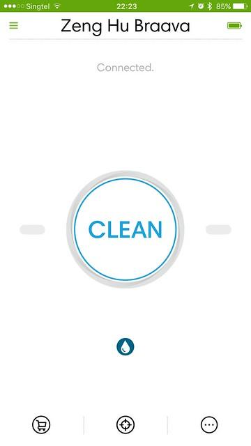 iRobot Home iOS App - Home
