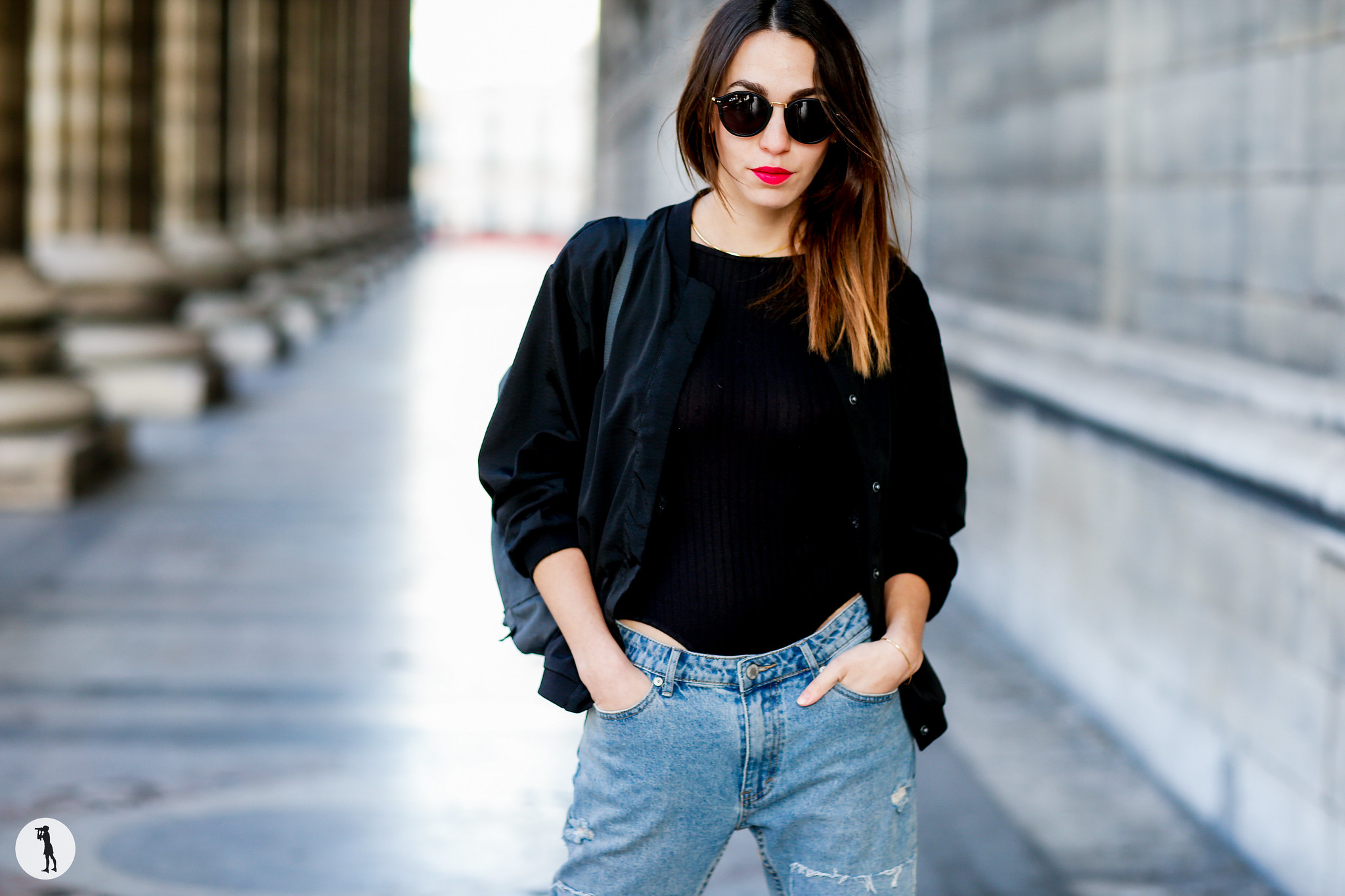Street style Photo shooting with french bloggers in Paris. Blogueuse Today Will Be Great