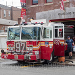 FDNY `The Astor Hilton` Engine 97 Fire Truck, Eastchester, Bronx, New York City