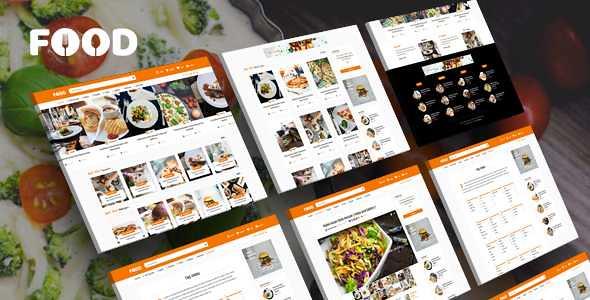 Tasty Food WordPress Theme free download