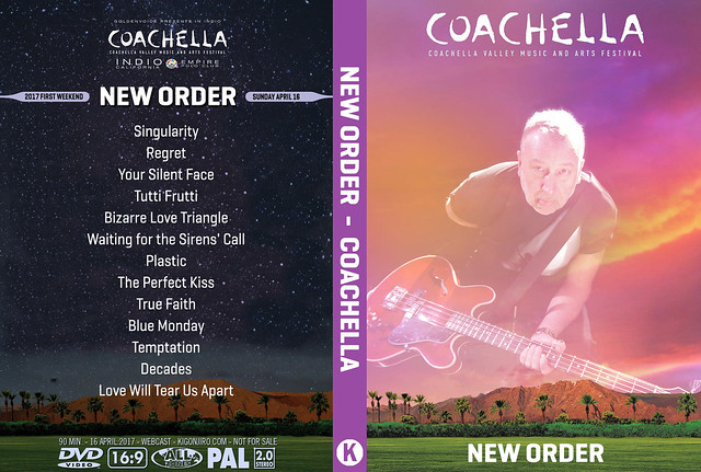New Order - Coachella 2017