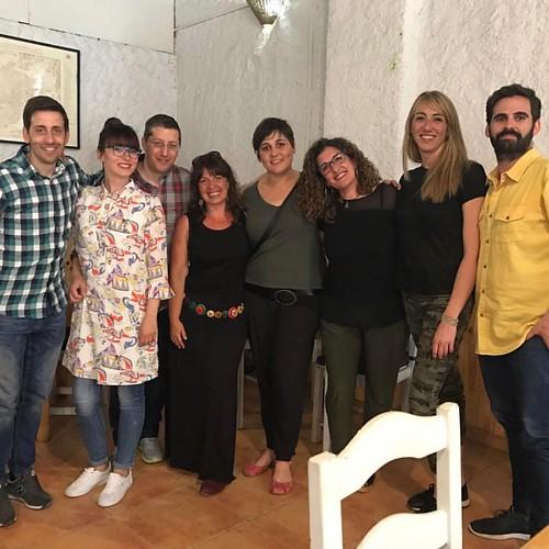 Equipo #GIRAMujeres Andalucía en la jornada de evaluación de proyecto. #almanatura