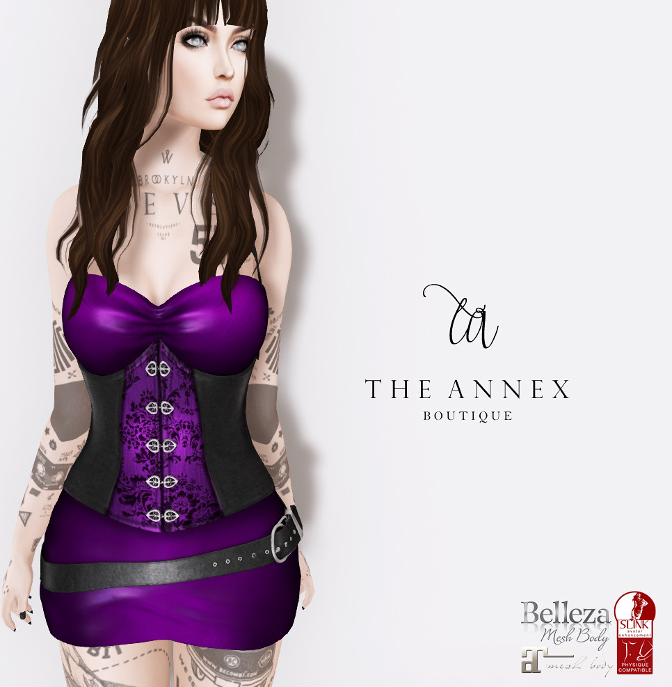 TA JEZEBEL DRESS AD - SecondLifeHub.com