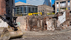 Seattles Old Underground gives way to yet another high rIse.  20170415