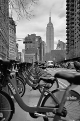 Empire and bikes.