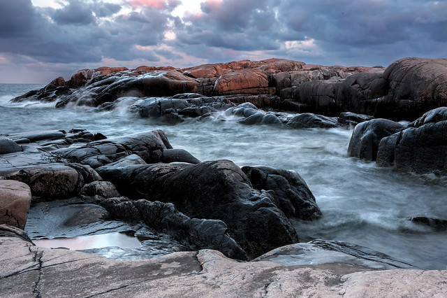 """A Windy Evening""...at Rönnskärs udde / Sennebyhaken on Väddö in Roslagen located northeast in the province of Uppland, Sweden, Scandinavia, Europe, Planet Earth...somewhere in The Solar System"