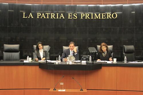 Sesión de la Comisión Permanente 3/may/17