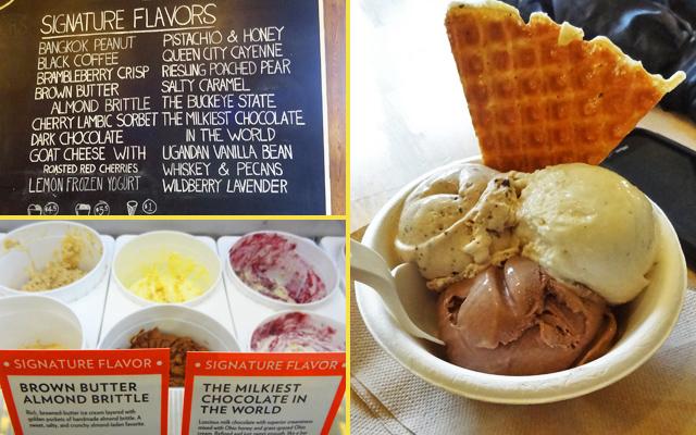 jenis ice cream unique things columbus