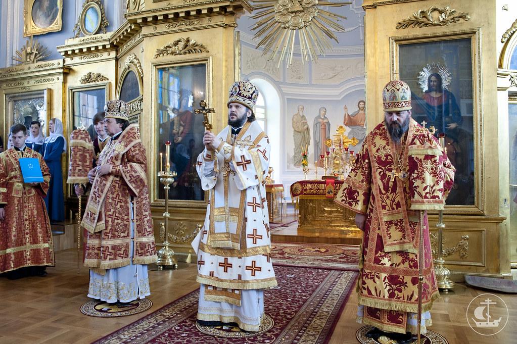 21 мая 2013, Литургия в день памяти апостола и евангелиста Иоанна Богослова