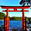 #torii by the #lake