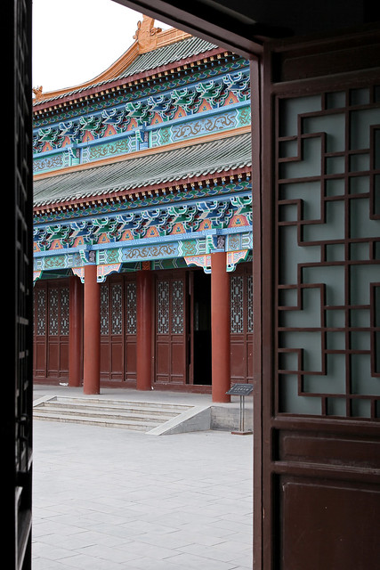 Palace of kings in Hami (Kumul) ハミ王府
