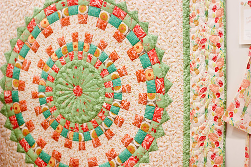 Quilt Market - Bonnie Christine's Booth by Jeni Baker