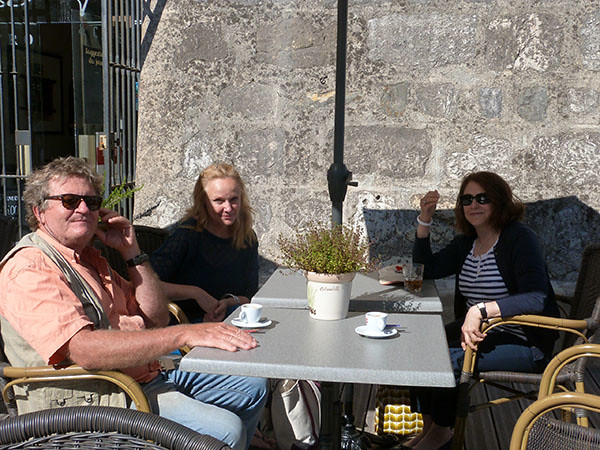 coffee time at Bar sur Loup