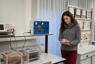 Laboratorio de Electrónica de Potencia y Máquinas Eléctricas / Potentzia elektronika eta makineria elektrikoko laborategia