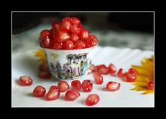 pomegranate arils photo