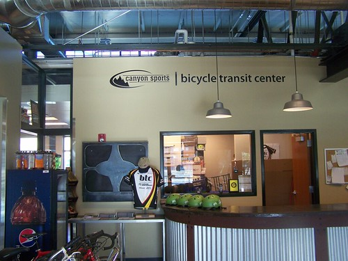 Bicycle Transit Center, Salt Lake City