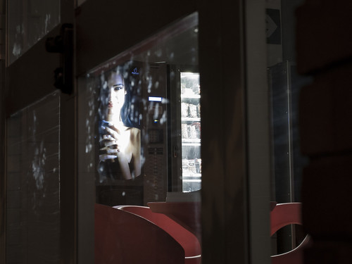 door longexposure light woman glass coffee night advertising point office break snack allure