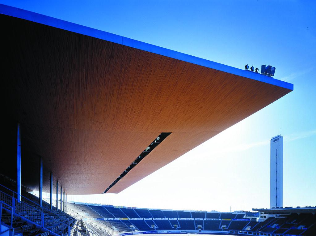 ... List · - - - & WAM | Helsinki Olympic Stadium Canopy | Helsinki