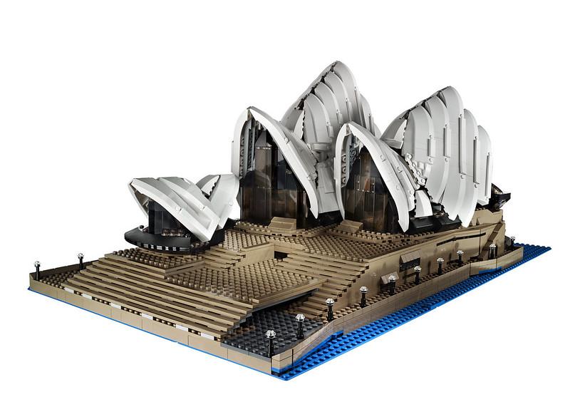 Opera Sydney Lego kit 10234 by Brickset