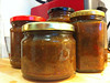 kiwi, apple, pear and ginger chutney