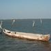 Dugout Canoe - Canoa hecho de un tronco; Playa de San Mateo del Mar,  Región Istmo, Oaxaca, Mexico por Lon&Queta