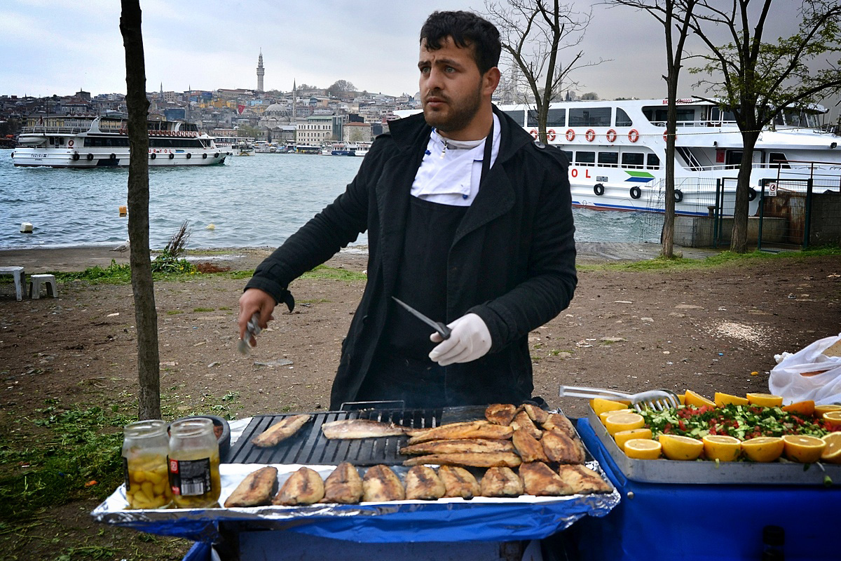 Near by the Galata Bridge, Istanbul