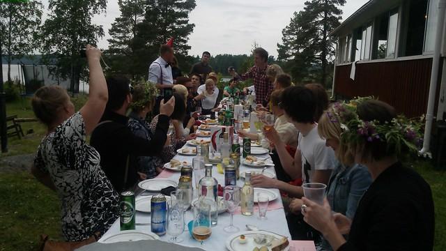 Juhannus en Finlandia