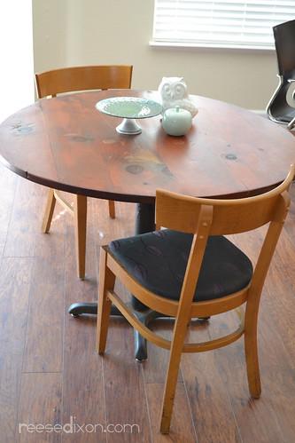 Wine cask table