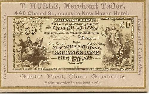 T. Hurle Naramore card $50