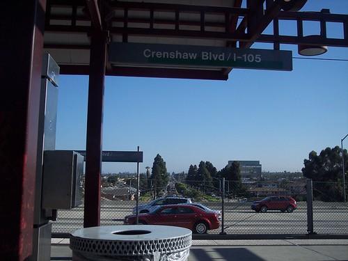 Crenshaw Blvd - I-105