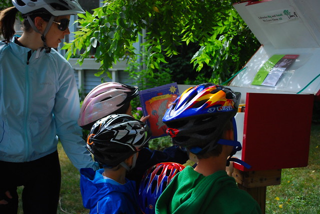 Books and Bikes ride