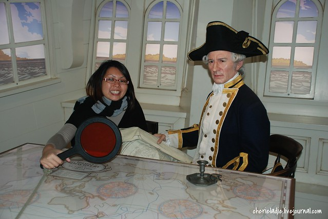 Captain Cook with Cindy