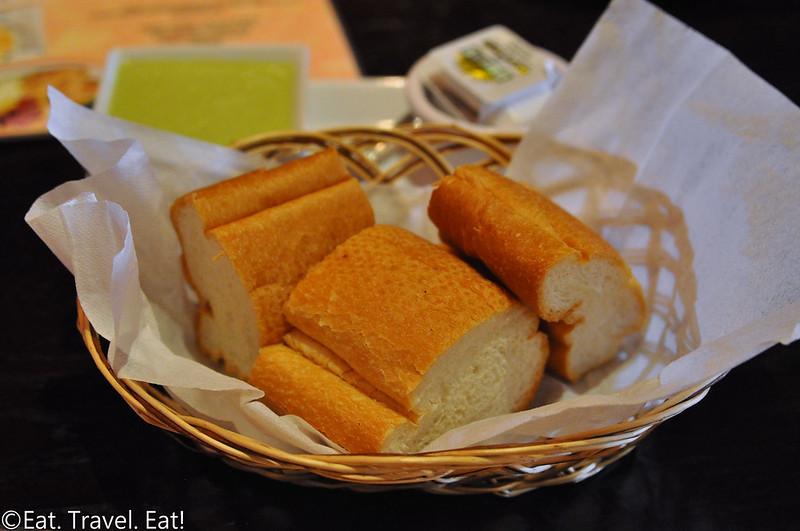 Inka Mama's- Santa Ana, CA: Bread, Butter, Aji Sauce