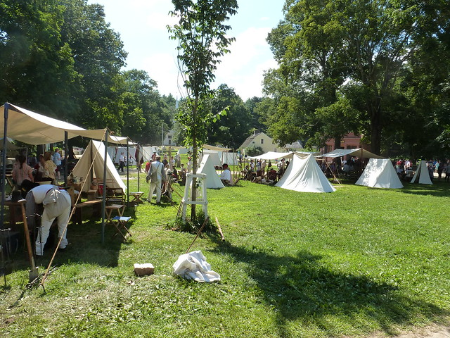 Redcoats and Rebels 2013 at Old Sturbridge Village