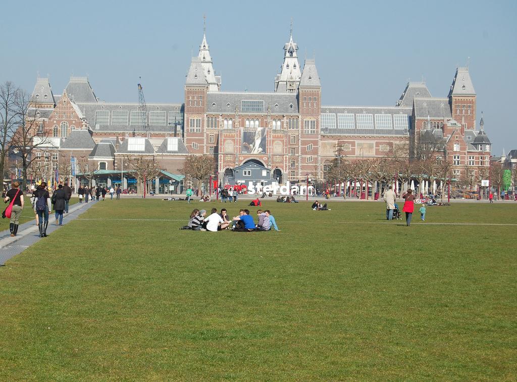 6. Rijsksmuseum de Ámsterdam. Autor, Burns!